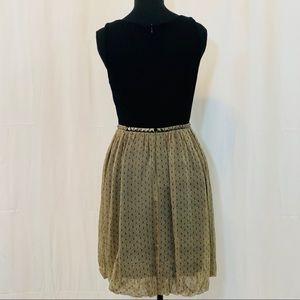 Anthropologie Christopher Deane Studded Dress